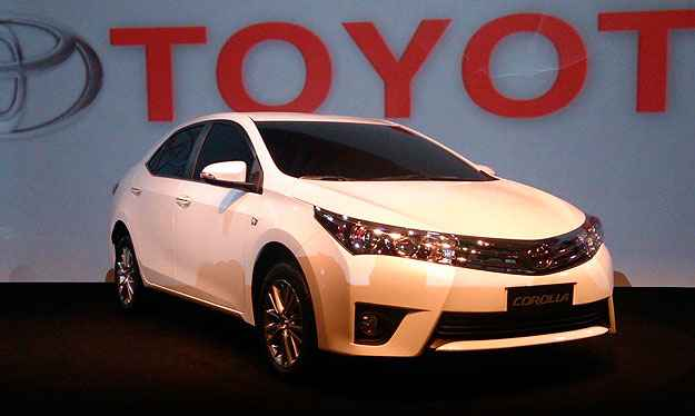 Toyota lan�a nova gera��o do Corolla no Brasil por R$ 66,5 mil