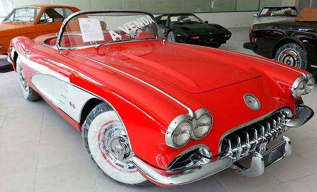 Com apenas dois exemplares no Brasil, Corvette 1960 custa R$ 385 mil - Thiago Ventura/EM/D.A Press