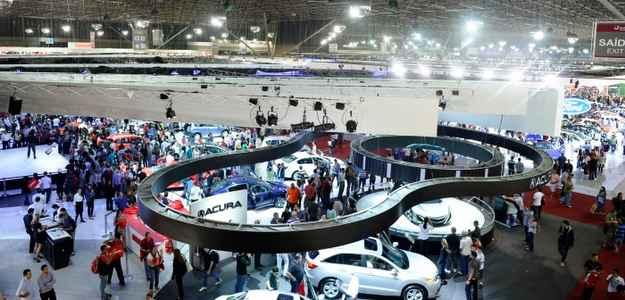Evento abre as portas no dia 30 de outubro e segue at� o dia 9 de novembro - Sal�o do Autom�vel de S�o Paulo/divulga��o