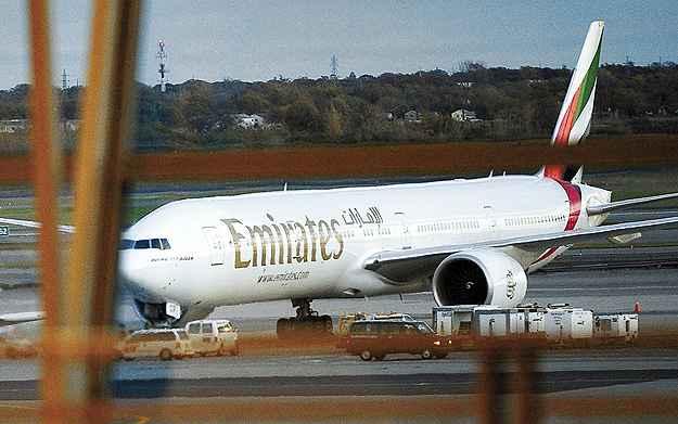 A Emirates foi eleita a melhor companhia a�rea do mundo (Emmanuel Dunand -AFP/29/10/10)