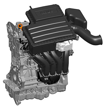 Novo motor tem bloco e cabe�otes feitos em alum�nio - Volkswagen/Divulga��o