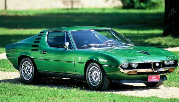 O que escrever sobre o Alfa Romeo Montreal? Bom, resta-nos apreciar a beleza atemporal desse modelo, lan�ado como vers�o de produ��o em 1970. Merecia ser mais caro que um Porsche 911 na �poca (Alfa Romeo/divulga��o )