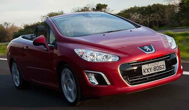308 CC tem pre�o de 147.490,00 um aumento de R$ 10 mil  (Peugeot/Divulga��o)