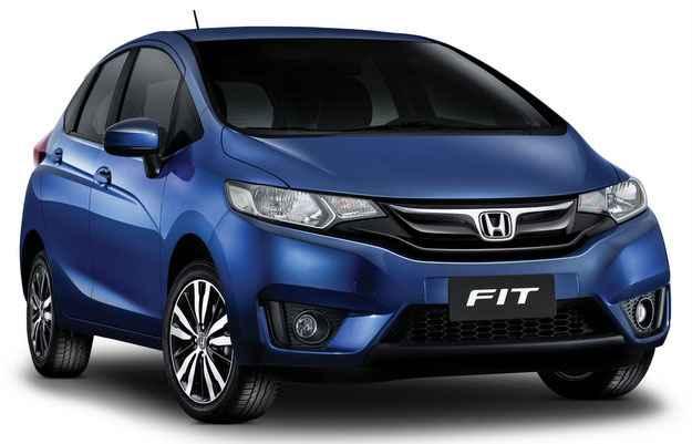 Fit apresenta as linhas que representam a nova identidade visual da marca (Honda/Divulga��o)