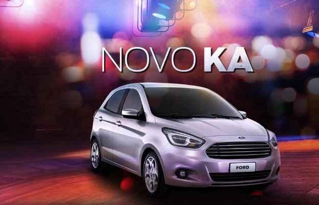 Interessados podem se cadastrar para receber novidades do carro - Ford/Divulga��o