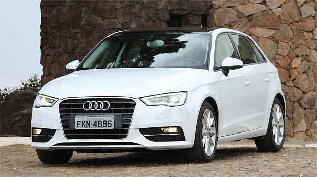 Audi A3 tem a menor desvaloriza��o do segmento - Marlos Ney Vidal/EM/D.A PRESS