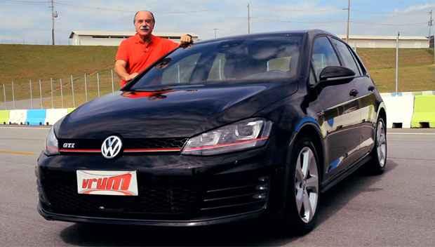 Vrum testa o Golf GTi , um esportivo em pele de hatchback