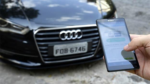 Aplicativo para celular detecta carros roubados e faz aumentar o n�mero de ve�culos recuperados