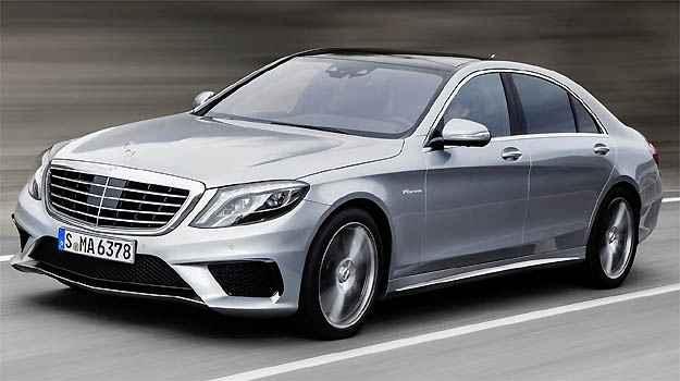 A S 63 L AMG ostenta o t�tulo de sed� de luxo mais potente do mundo  (Fotos: Mercedes-Benz/Divulga��o)