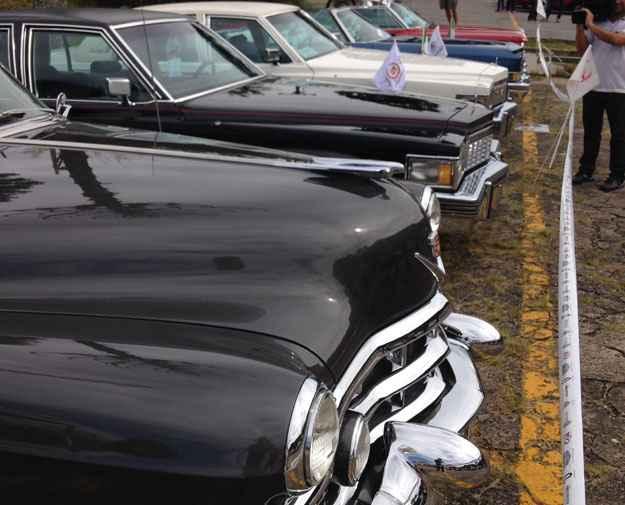 Ala de norte-americanos com a marca de luxo Cadillac (Boris Feldman/EM/D. A Press )