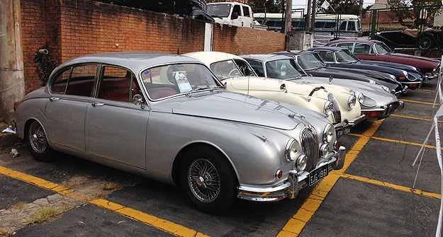 Jaguar: marca inglesa compareceu para dar brilho ao encontro  - Boris Feldman/EM/D. A Press