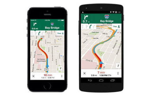 Dispositivo oferece novos recursos para orientar os motoristas no tr�nsito - Google/divulga��o
