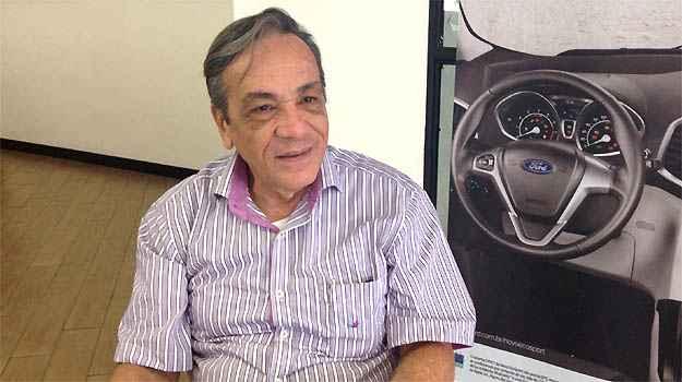 Cliente da Pisa Ford, o m�dico Jos� Carlos Rogedo pretende comprar EcoSport ou Focus hatch (Marcus Celestino/EM/D.A PRESS)