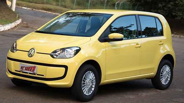 VW up! é um pouco mais caro que seus concorrentes, mas é o mais seguro e o mais econômico do Brasil - Thiago Ventura/EM/D.A PRESS