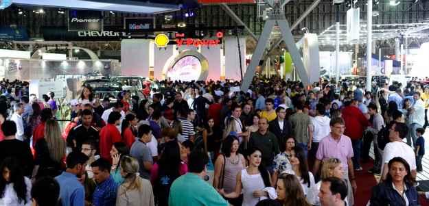 Esgotamento do primeiro lote de ingressos faz organiza��o sonhar com recorde de p�blico  (Sal�o Internacional do Autom�vel de S�o Paulo/ divulga��o )