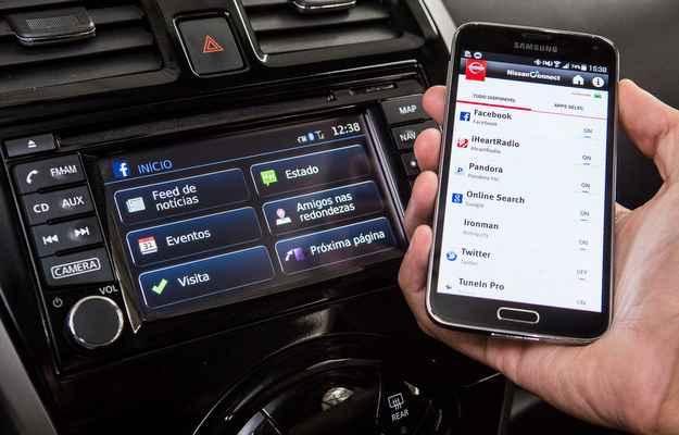 NissanConnect � gratuito para os primeiros tr�s anos - Marcos Camargo/Nissan/Divulga��o