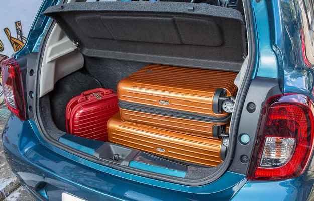 Porta-malas � amplo e acomoda bem as bagagens - Marcos Camargo/Nissan/Divulga��o