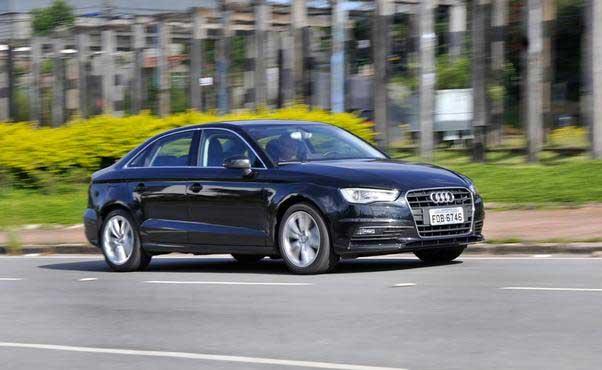 Em comemoração aos 20 anos da marca no Brasil, toda a linha Audi, a exemplo do A3, pode ser financiada sem juros  - Juarez Rodriguez/EM/DA PRESS