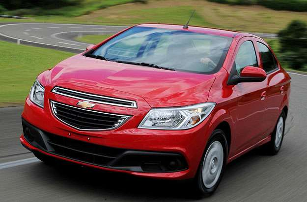 Linha 2015 n�o sofreu altera��es est�ticas - Chevrolet/divulga��o
