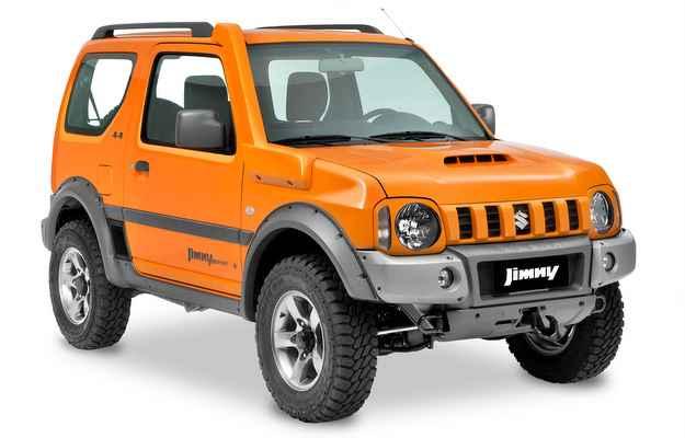 SUV compacto � equipado com motor de alum�nio 1.3L de 85 cv de pot�ncia (Murilo Mattos/Suzuki/divulga��o)