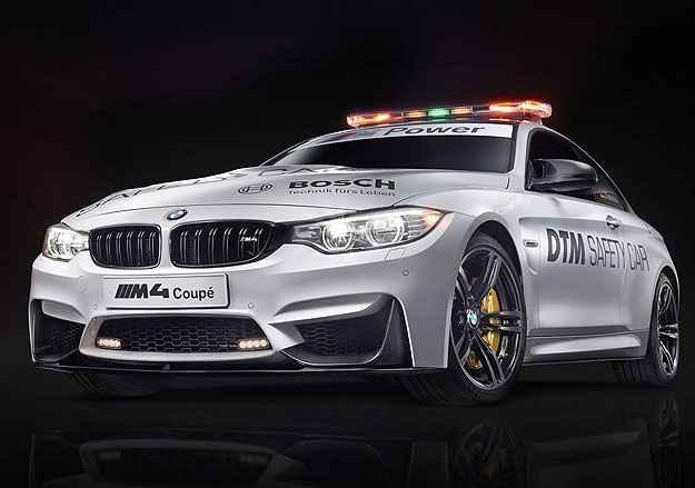 No sofisticado campeonato alem�o de turismo, o DTM, quem abre caminho � o cup� BMW M4 (Divulga��o)