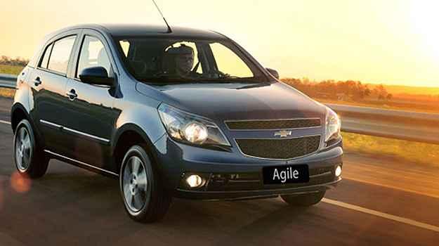 Al�m do Agile, devem ficar atentos donos de Celta, Classic, Cobalt, Cruze Sport6, Cruze, Montana, Onix, Prisma e Spin  (Chevrolet/Divulga��o)