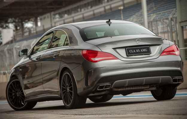 Esportivo acelera de 0 a 100 km/h em apenas 4,6 segundos  - Mercedes-Benz/Divulga��o