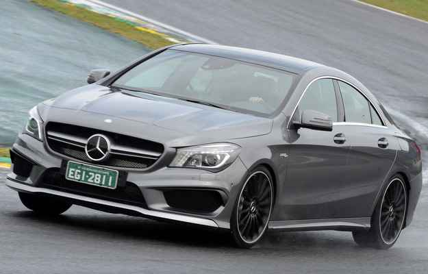 Mercedes-Benz lan�a o CLA 45 AMG no Brasil por R$ 289 mil