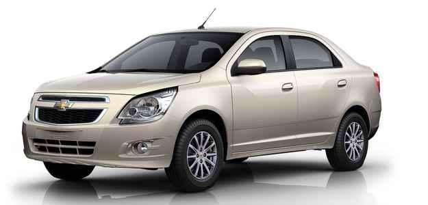 Cobalt � comercializado com duas op��es de motores Econo.Flex, o 1.4 e o 1.8 (Chevrolet/divulga��o)