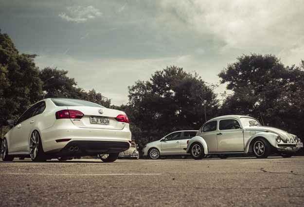Encontro re�ne ve�culos Volkswagen em Minas
