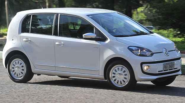 Lan�amento em 2014, up! teve m�dias de  13,2km/l (cidade) e 14,3 km/l(estrada) (VW/Divulga��o)