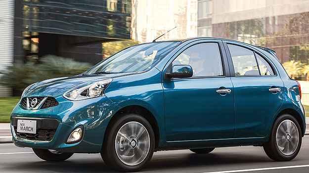 Terceiro ve�culo flex mais econ�mico no Brasil � o Nissan March (Nissan/Divulga��o)