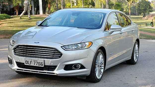 Ford Fusion Hybrid faz 16,8 km/l na cidade e 14,7 km/l na estrada - Ford/Divulga��o