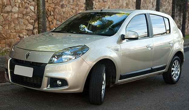 Renault Sandero � o modelo mais vendido em Minas em maio - Thiago Ventura/EM/D.A Press