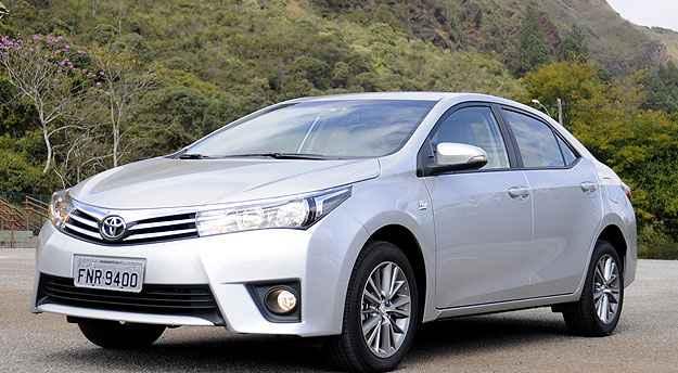 Toyota Corolla superou o Honda Civic em vendas em maio - Jair Amaral/EM/D.A Press