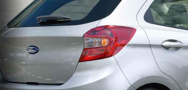 Imagens mostram traseira renovada  - Ford/divulga��o