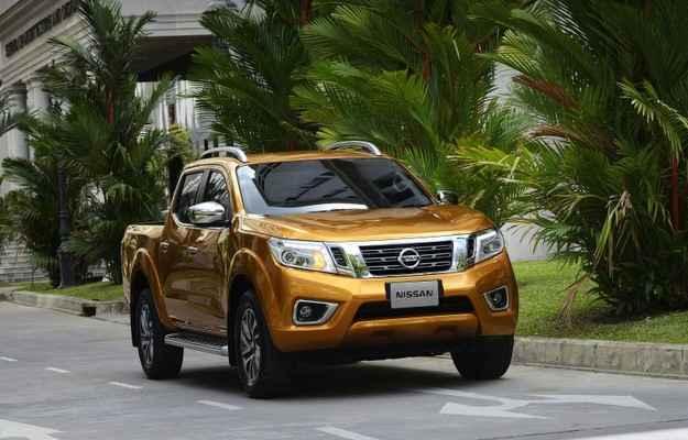 Picape antecipa as linhas do modelo que chegar� ao Brasil em breve - Nissan/divulga��o
