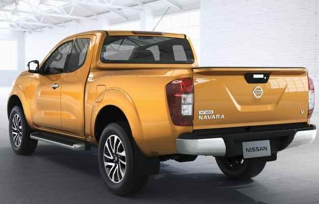 Frontier chega em novas varia��es como cabine estendida ou simples - Nissan/divulga��o
