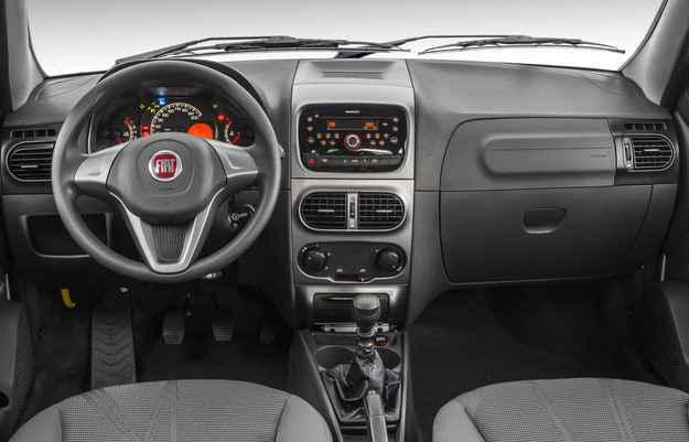 Palio Weekend 2015 traz novos detalhes internos (Fiat/divulga��o)
