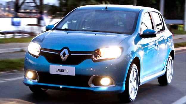Sandero agora conta com motor 1.0 16V Hi-Power (Renault/divulga�ao )