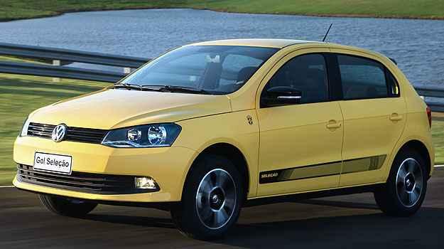E uma das vers�es do Gol � justamente em homenagem ao Brasil... - Volkswagen/Divulga��o