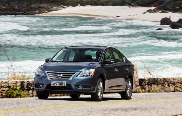 Nissan Sentra chega � linha 2015 com mais op��es para o consumidor (Nissan/ divulgacao)