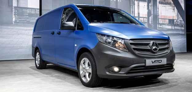 Autonomia da van gira em torno de 17,5 km/L, com pouca emiss�o de poluentes - Mercedes/divulgacao
