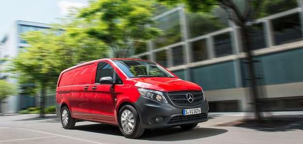 As opções de carroceria são: furgão de carga, furgão misto e passageiros - Mercedes/divulgacao