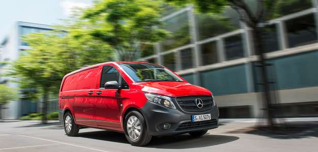 As op��es de carroceria s�o: furg�o de carga, furg�o misto e passageiros (Mercedes/divulgacao )