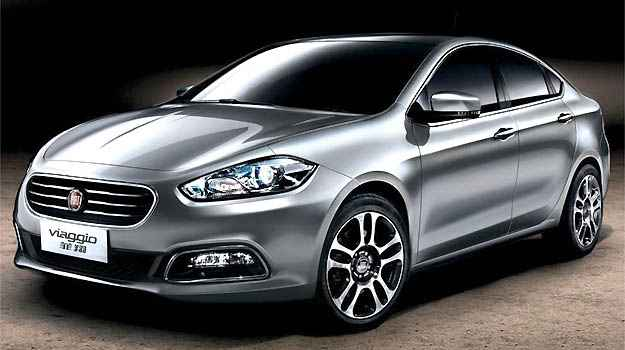 Fiat Viaggio já é comercializado na China - Fiat/Divulgação