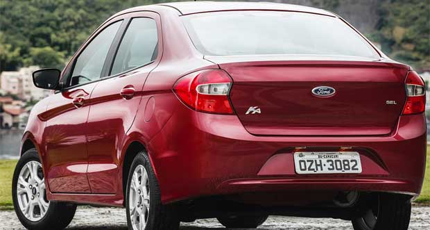Controles de tra��o e estabilidade s�o destaques do novo Ford Ka