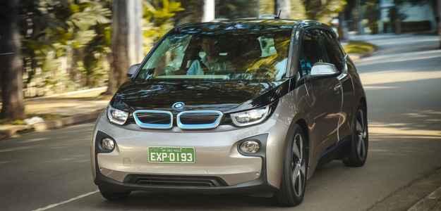 Projetado para ambiente urbano, carro conta com autonomia de 130 e 160 km - BMW/divulgação