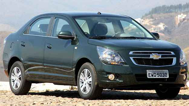 Chevrolet Cobalt aumentou mais de 6% de janeiro a agosto deste ano - Marlos Ney Vidal/EM/D.A PRESS
