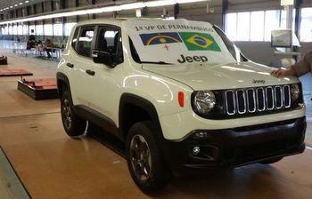 Vrum revela primeira foto do Jeep Renegade produzido no Brasil